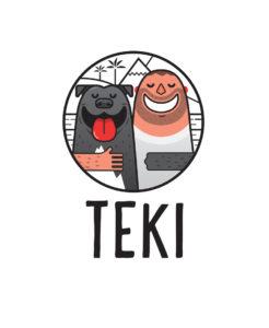 Logo projektu Vždy je cesta - Teky a Honza Drobný.
