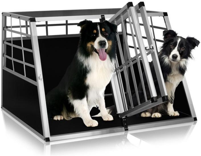 Přepravní hliníkový box pro psy (zdroj: Hawaj.cz)